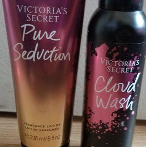 Lotion and Fragrance Mist-Victoria Secret